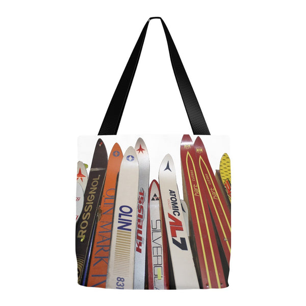 Skis - Tote Bag