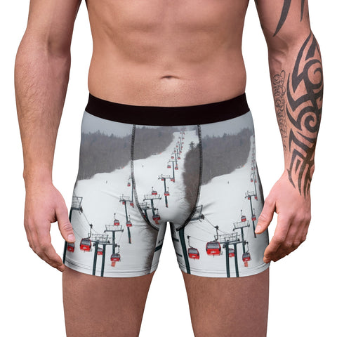 Stowe Mountain Gondola - Men's Boxer Briefs
