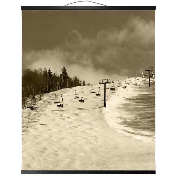 Hanging Canvas Print - Superstar Sepia