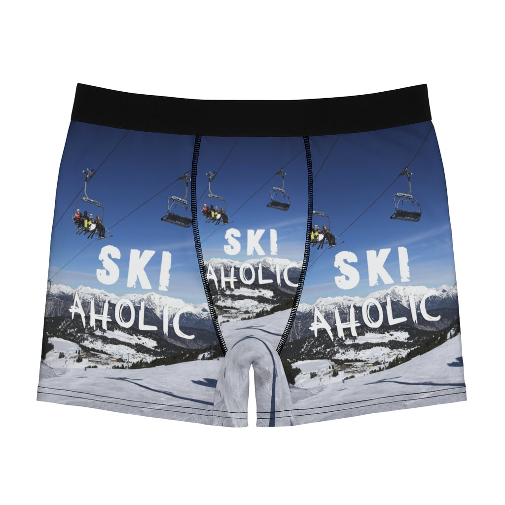 Ski Aholic - Men's Boxer Briefs
