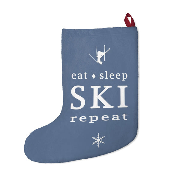 Christmas Stockings - Eat Sleep SKI repeat