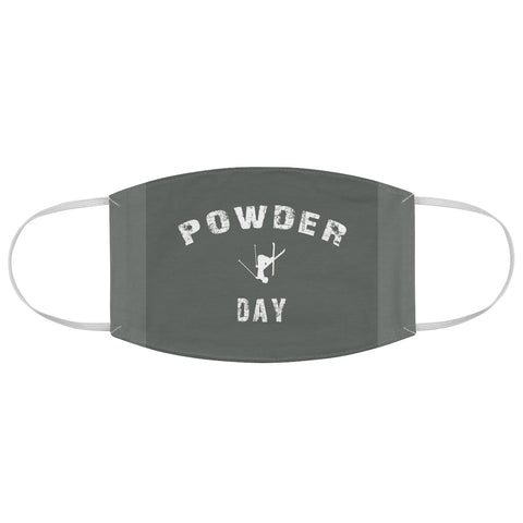 Powder Day Gray - Fabric Face Mask