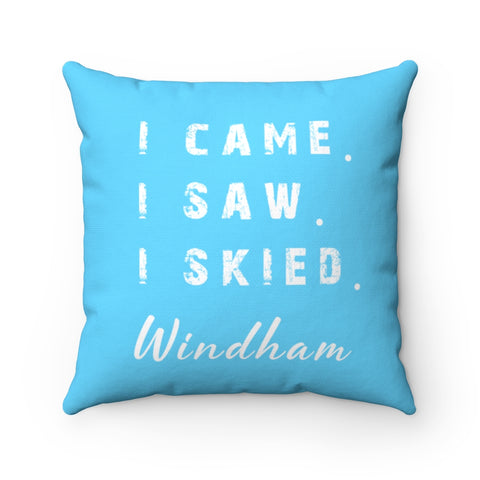 I skied Windham - Pillow