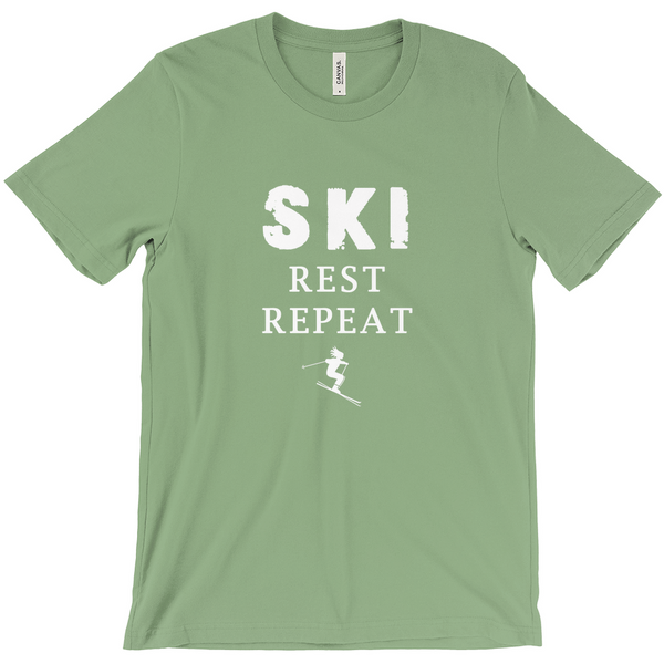 Ski Rest Repeat - T-Shirts