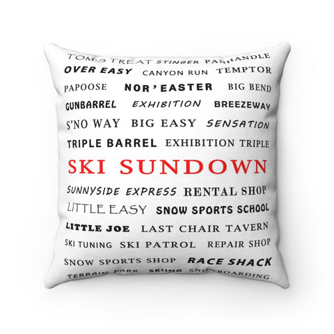 Ski Sundown - Pillow