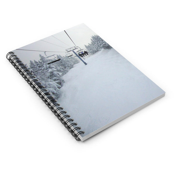 Spiral Notebook - Chair Lift Vermont
