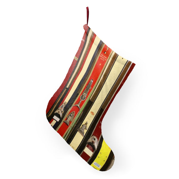 Christmas Stockings - Vintage Skis
