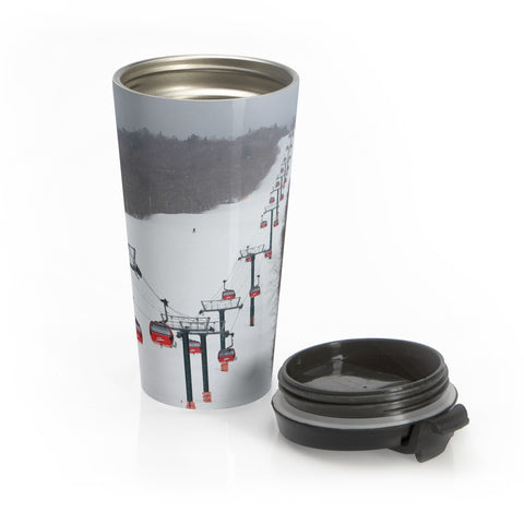 Stainless Steel Travel Mug - Stowe Gondola