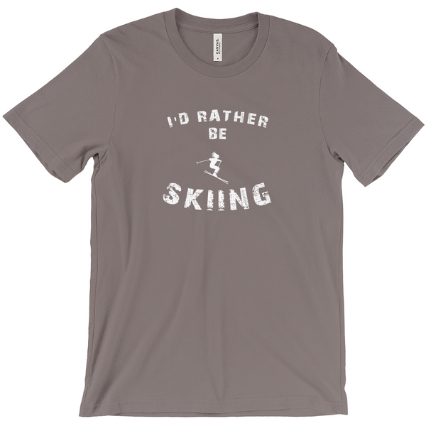 I'd Rather be Skiing - T-Shirt