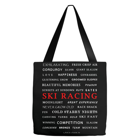 Ski Racing - Tote Bag