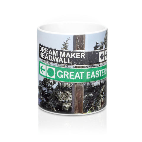 Mugs - Ski Trail Sign Dream Maker