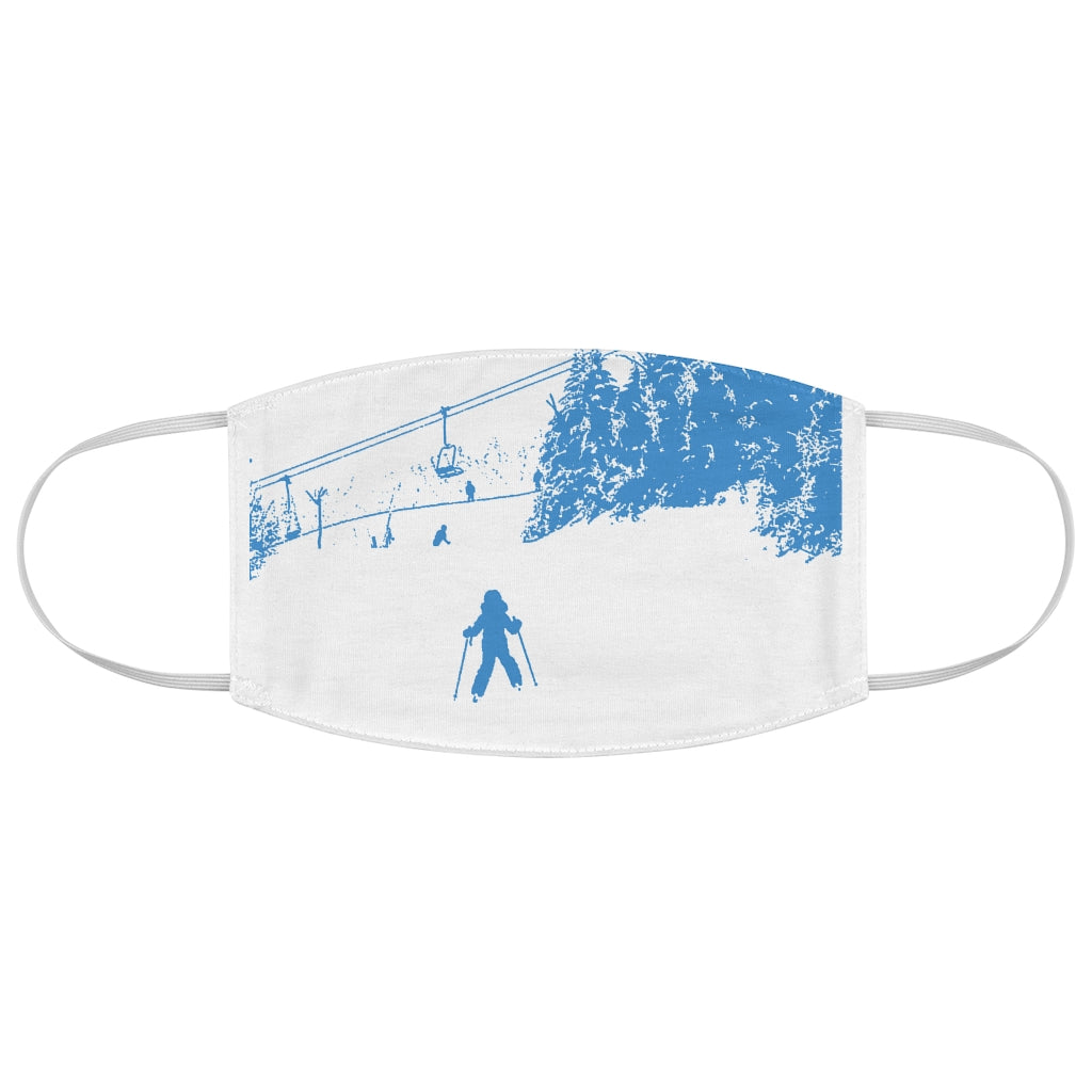 Little Skier - Fabric Face Mask