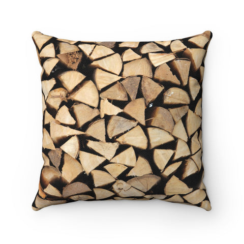 Firewood - Throw Pillow