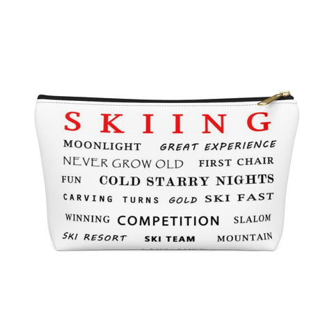 Skiing - Accessory Pouch w T-bottom