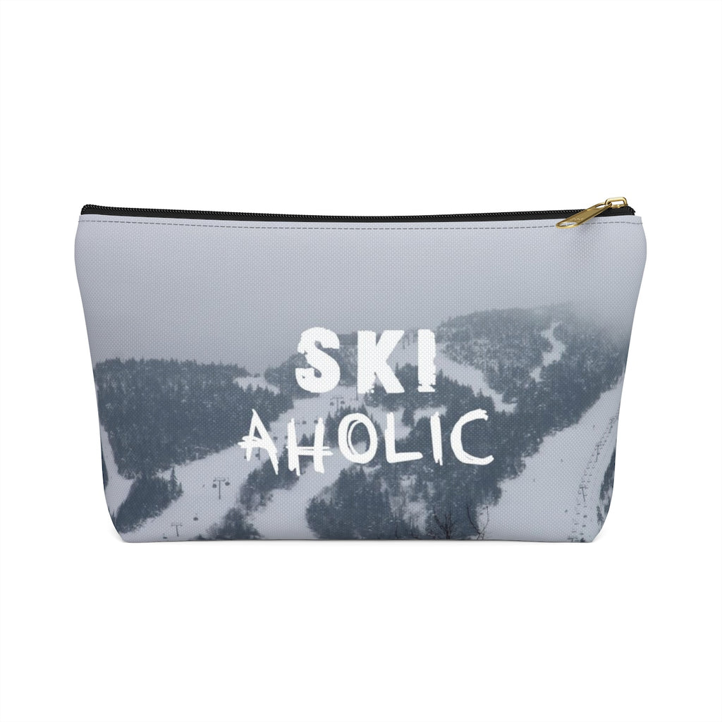 Ski Aholic - Accessory Pouch w T-bottom