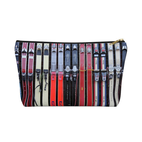 Vintage Skis - Accessory Pouch w T-bottom
