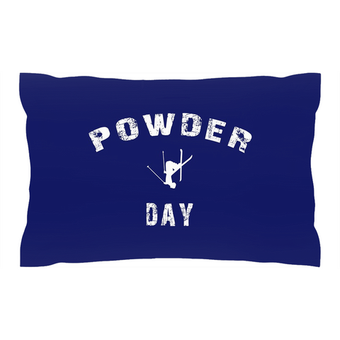 Powder Day Navy Blue - Pillow Shams