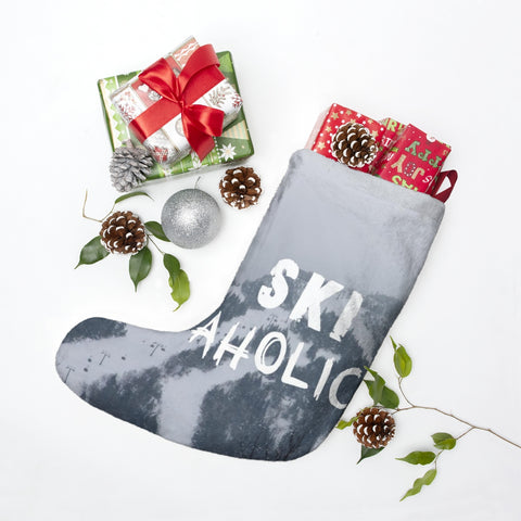 Christmas Stockings - Ski Aholic
