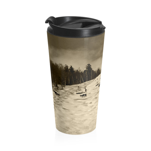 Superstar Killington Sepia - Stainless Steel Travel Mug