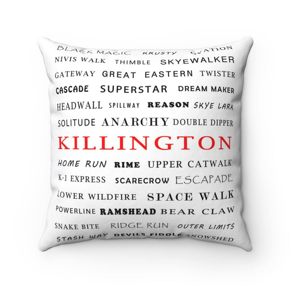 Killington - Throw Pillow