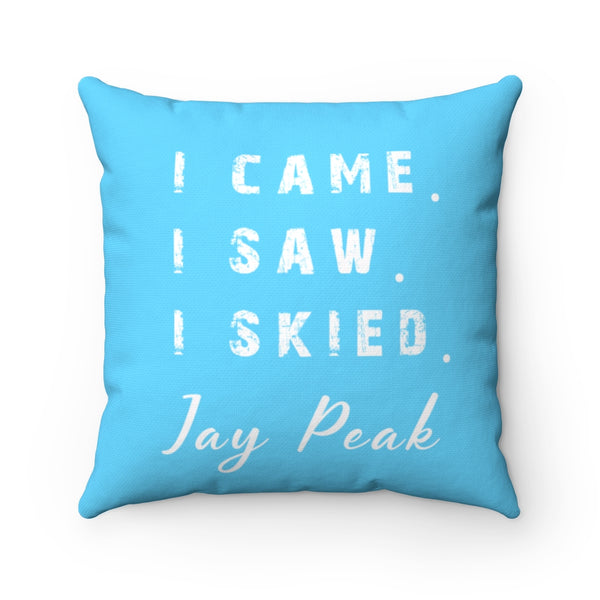 I skied Jay Peak - Pillow
