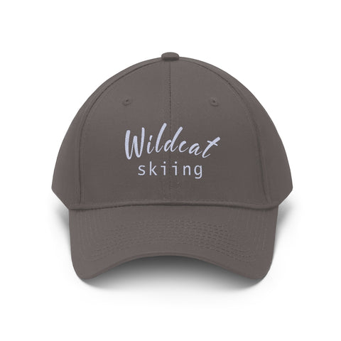 Wildcat Skiing - Unisex Twill Hat
