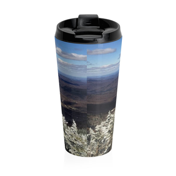 Stainless Steel Travel Mug - View from Killington