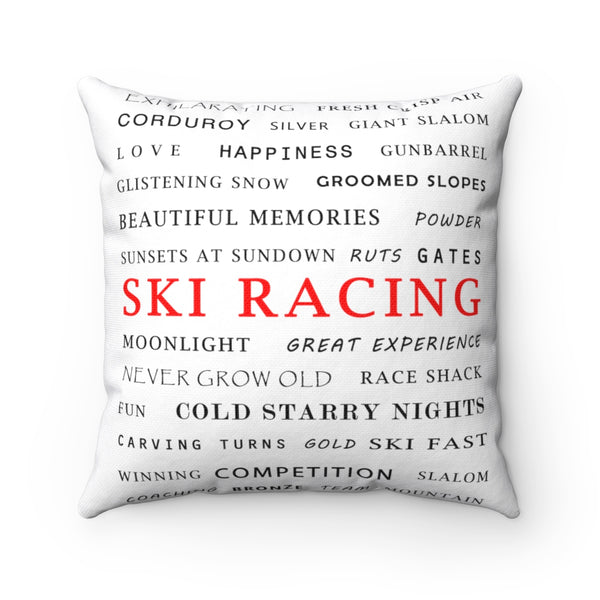 Ski Racing - Pillow
