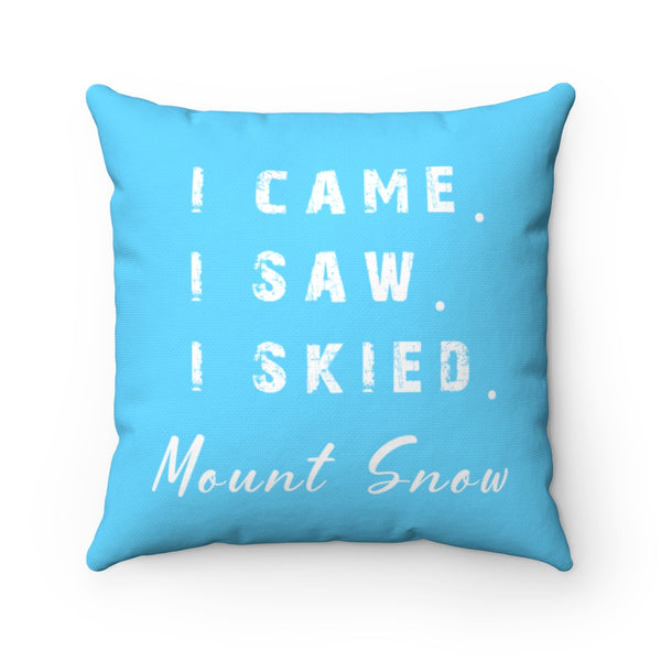 I skied Mount Snow - Pillow