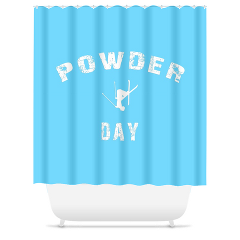Shower Curtain - Powder Day