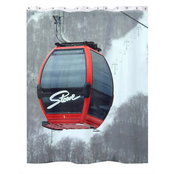 Stowe Gondola - Shower Curtain