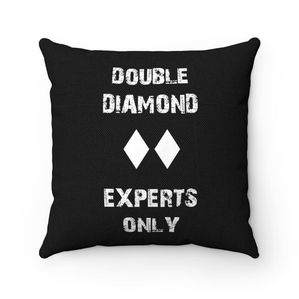 Double Diamond - Throw Pillow