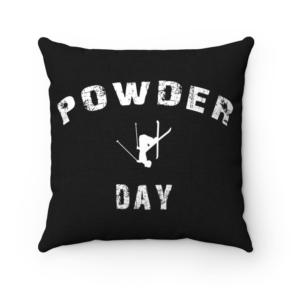 Powder Day - Throw Pillow