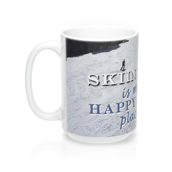 Mugs - Skiing Is My Happy Place