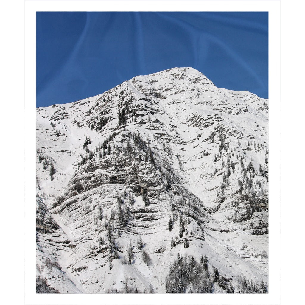 Sunny Mountain - Throw Blanket
