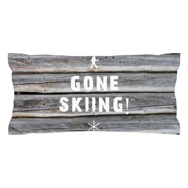 Gone Skiing - Pillow Sham