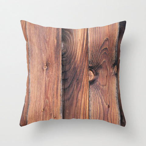Barn Wood, Pillow Cover