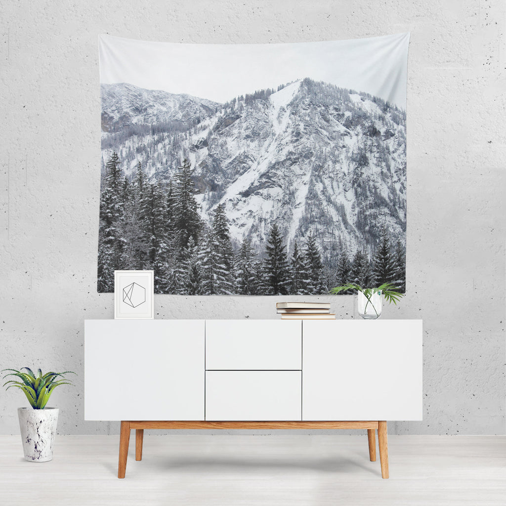 Mountain Grundlsee - Wall Tapestry