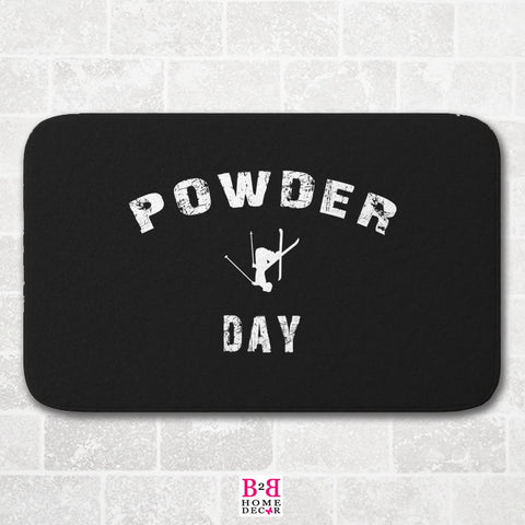 Powder Day - Bath Mat