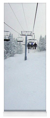 Chair Lift Vermont - Yoga Mat
