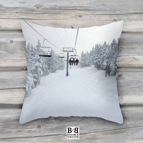 Chair Lift, Pillow Cover