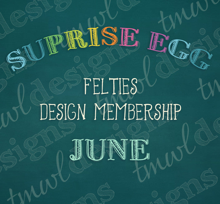 Surprise Egg Design Memberships - June