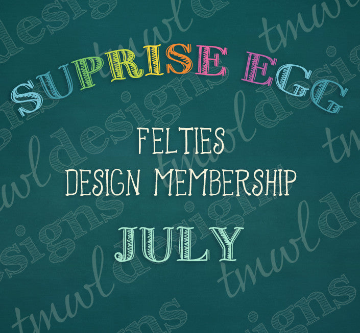Surprise Egg Design Memberships - July