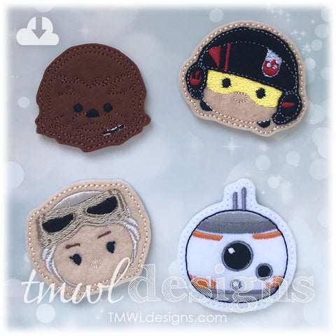 The Force Feltie Set Two