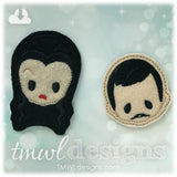 Gothic Family Mother Morticia Feltie
