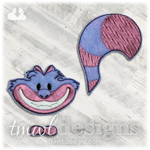 Cheshire Cat Bow Parts