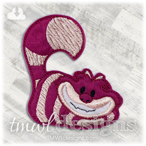 Cheshire Cat Feltie