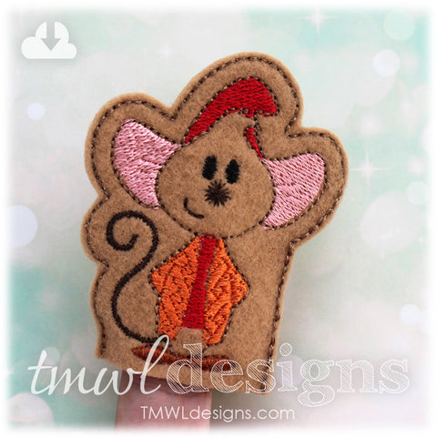 Cinderella Mouse A Finger Puppet