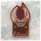 Kakamora Leader Coconut Pirate Finger Puppet