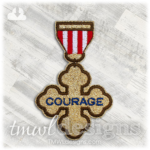 Courage Badge Accessory